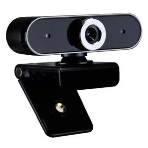 WEBCAM Telecamera Con Microfono Per PC Skype Videochiamate Smartworking USB