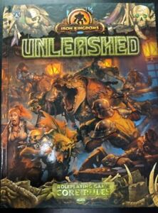 1x-Iron-Kingdoms-Unleashed-Core-Rules-New-Near-Mint-RPG-Other