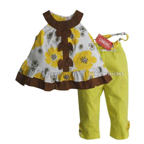 NWT Gymboree Baby Girls Shirt legging /& Headband Size 3 6 9 12 18 24 months