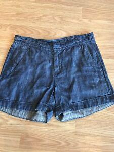 Lilla-P-denim-shorts