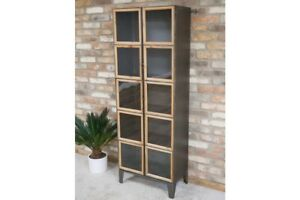 Tall-Industrial-Metal-Display-Cabinet