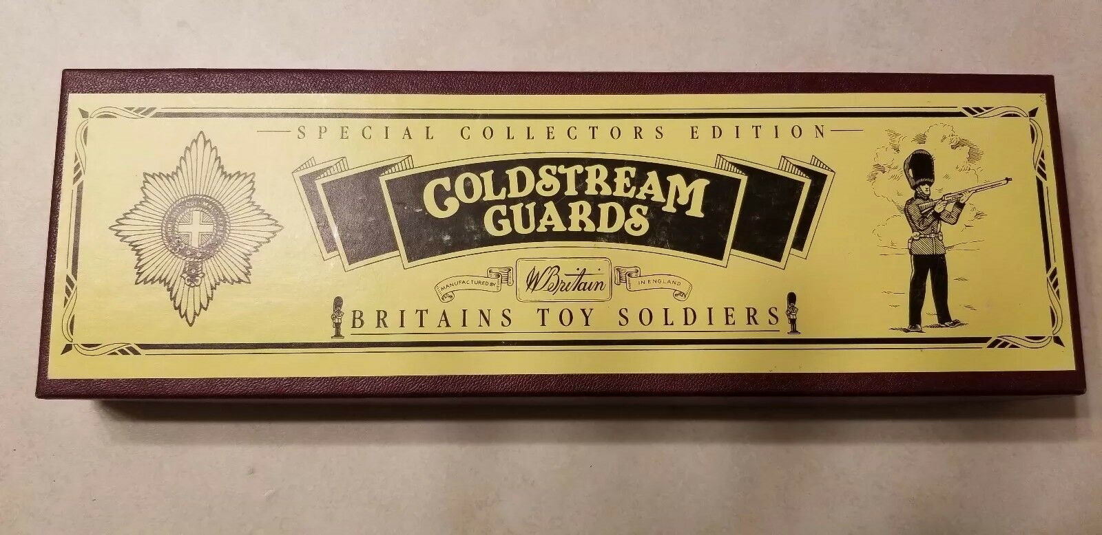 NEW Britains toy soldiers 8800 Coldstream guards 1990 100% Original GIFT