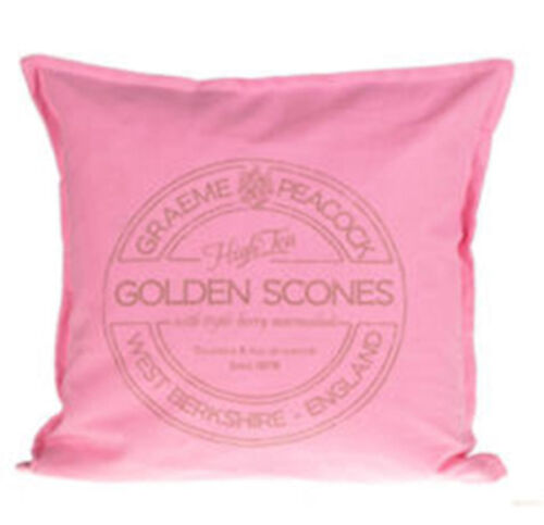 Kissenhülle Kissenbezug Dekokissen GOLDEN SCONES 45x45 cm Kissen Hülle Bezug