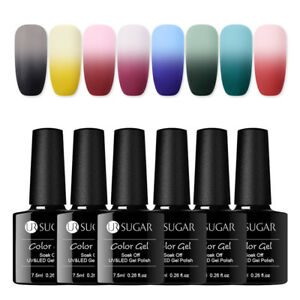 UR-SUGAR-7-5ml-Nagel-Gellack-One-Step-Thermal-Matte-Color-Changing-Soak-Off-Matt