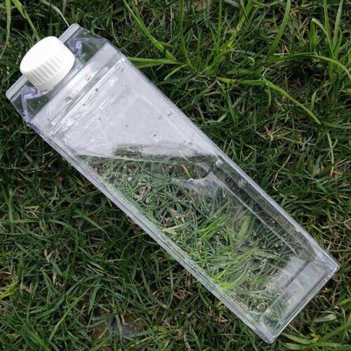 Transparent Milk Water Bottle Drinkware Outdoor Tour Leakproof Milk Water Bottle