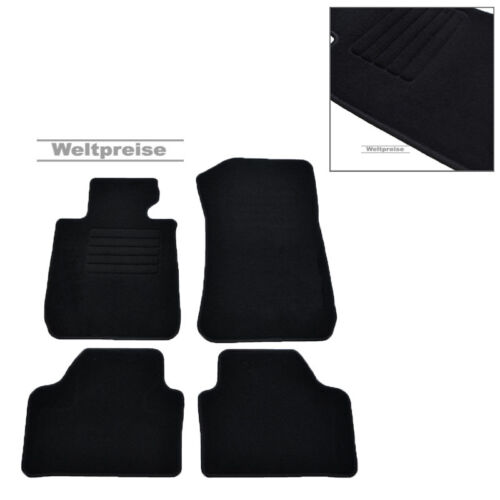 10//2009-2015 4-tlg Weltpreise Velours Fußmatten passend für BMW X1 E84 ab Bj