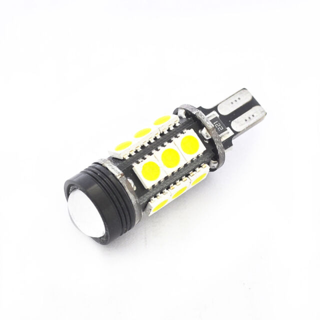 12V 7W HID White 921 T15 Backup Reverse LED Lights Projector Lens Bulbs White