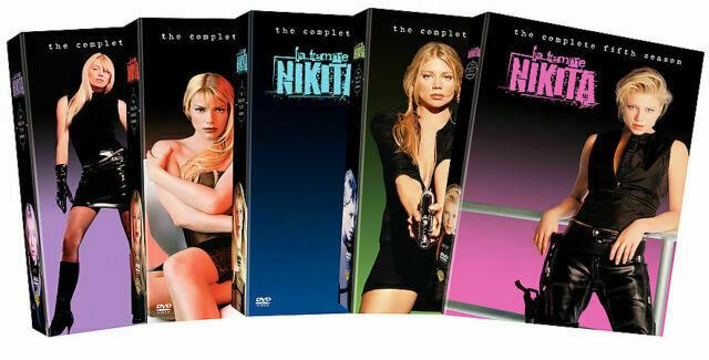 giurare Leggi e regolamenti bagnarsi  La Femme Nikita: The Complete Seasons 1-5 (DVD, 2006, 27-Disc Set) for sale  online | eBay