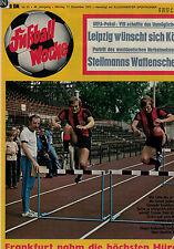 Fußball Woche 51/1973,Bundesliga,SV DARMSTADT 98 POSTER,Hölzenbein,Wattenscheid