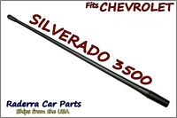 Fits: 1985-2005 Chevy Silverado 3500 - 13 Short Flexible Rubber Antenna Mast