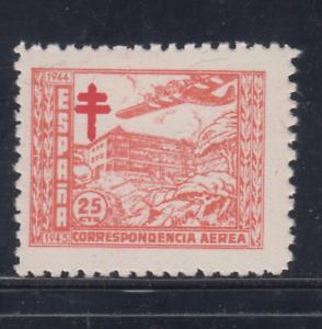 ESPANA-1944-NUEVO-SIN-FIJASELLOS-MNH-EDIFIL-988-25-cts-TUBERCULOSOS-LOTE-1