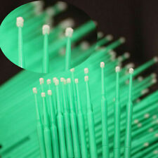 100 Pcs Dental Micro Brush Disposable Materials Tooth Applicators Medium 20