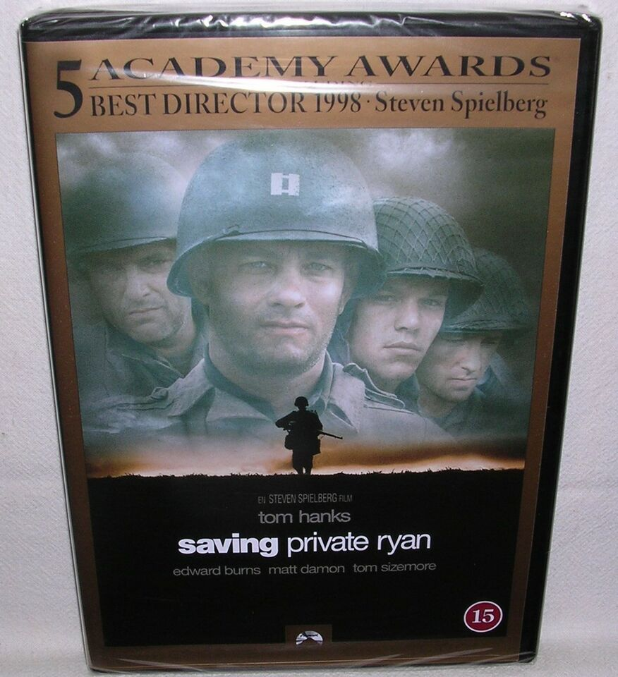 Saving Private Ryan, instruktør Steven Spielberg, DVD