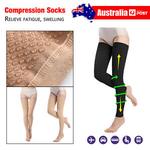 683e74ad9133df Image is loading Compression-Socks-for-Men-Women-Relieve-Fatigue-Medical-