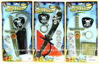 Pirates Play Set 3-pack Sword Scarf Hook Knife Eye Patch Costume Accessories I