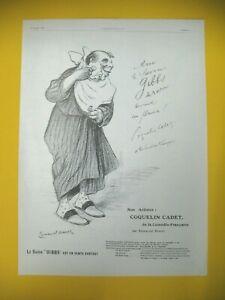 Advertising-Press-Gibbs-Soap-with-Beard-Coquelin-Cadet-Illustration-Sarcet-1907
