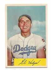 1954 Bowman Gil Hodges 138 Baseball Card