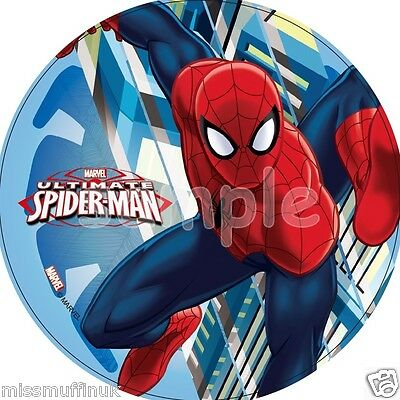 In Workmanship Essbar Tortendeko Spiderman Tortenaufleger Neu Backen Party-deko Geburtstag Exquisite