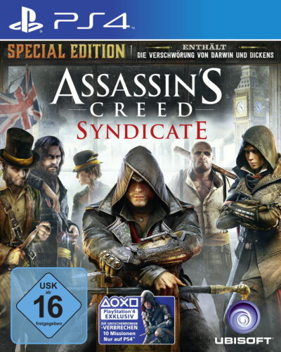 1 von 1 - Assassin's Creed: Syndicate (Sony PlayStation 4 Spiel, 2015, USK 16)