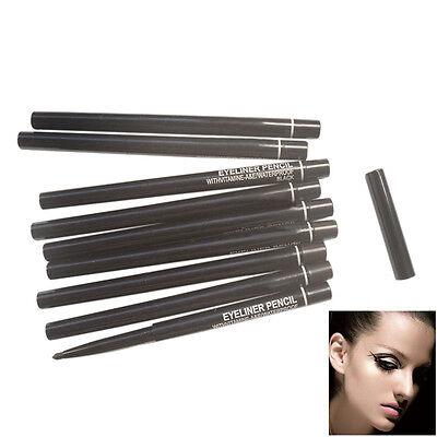 Waterproof Rotary Gel Cream Eye Liner Black  Eyeliner Pen Makeup Cosmetic