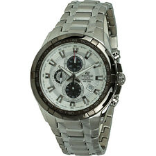Casio Edifice Black Dial Chronograph Sports Men's Watch EF539D7AV