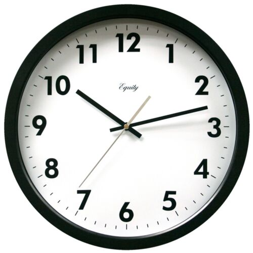 """25509 Equity by La Crosse 14/"""" Commercial Analog Wall Clock"""