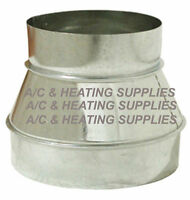 Single Wall Metal Duct Reducer / Increaser For Ducting / Other Purpose.expedited