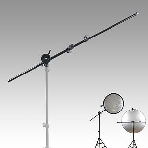 24-66 inch Photography Photo Studio Extendable Reflector Holder Arm Support