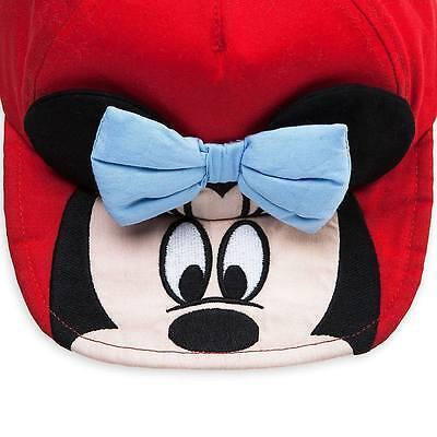 NWT Disney Store Minnie Mouse Basball Swim Cap Toddler Baby Hat Many Sizes