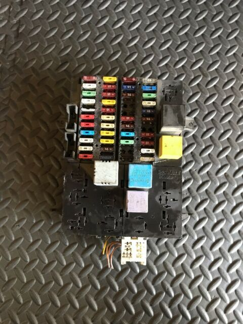 Renault Master Fuse Box Location