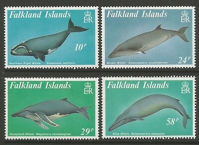 1989 Postfrisch Beliebte Marke Stamps-falklands Barten Wale Set Sg : 583/86