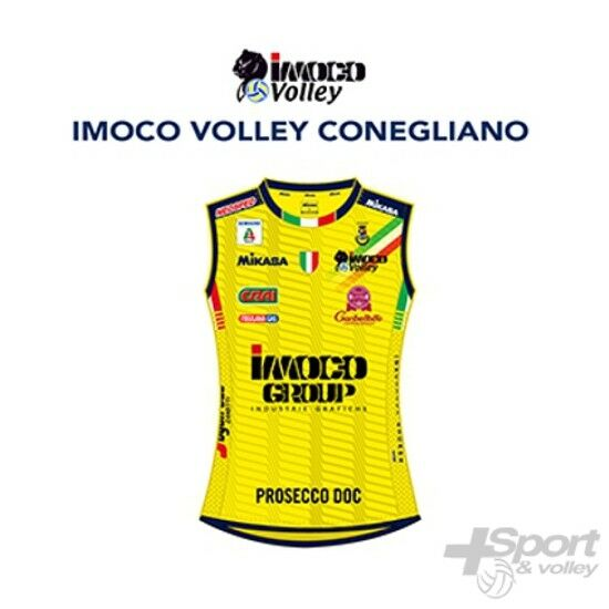Second Jersey gara volleyball  Mikasa Official Imoco Conegliano woman - MT249-012  cheap in high quality
