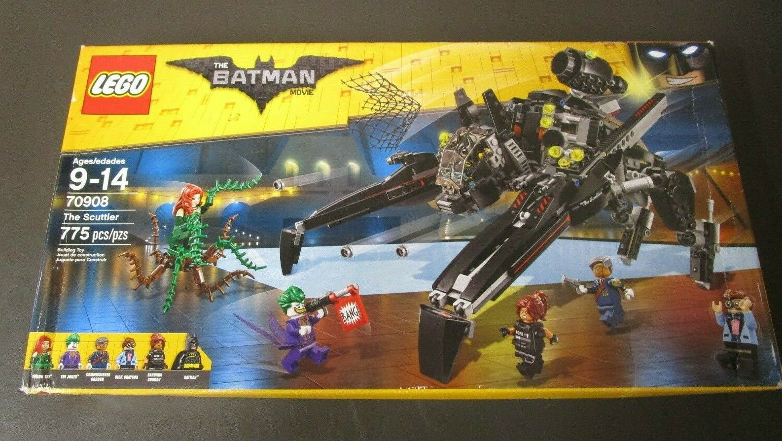 The Scuttler 70908 LEGO The Batman Movie 775 Pieces NEW SEALED