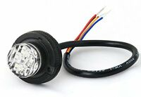 Led Hideaway Strobe Light For Tow Truck Security Emergency Vehicle - Amber/white