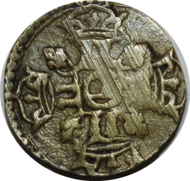O1145 RARE !! Poids monétaire du 1/2 louis d'or Louis XIV ->F offre