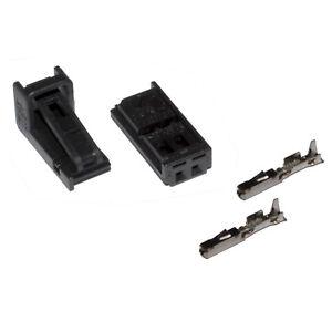 Stecker 2-polig Reparatursatz für VW 1J0973702 Skoda Seat Audi weiblich