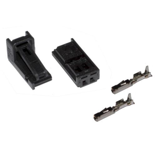 Conector 2 polos reparac para VW 4b0971832 skoda seat audi hembra Crimp