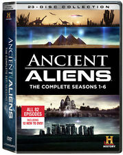 Ancient Aliens TV Series Complete Season 1-6 (1 2 3 4 5 6) NEW 23-DISC DVD SET