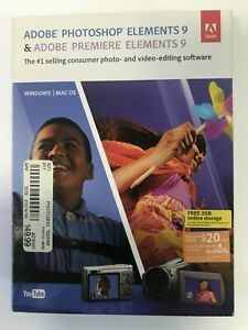 Details about Adobe Photoshop Elements 9 Premiere 9 PC And MAC OS Version  CD-KEY COMPLETE