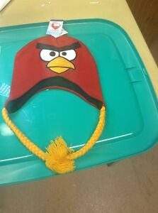 NWT ANGRY BIRD Kids Boys Baseball Cap Hat Red Main Character Cap Licensed