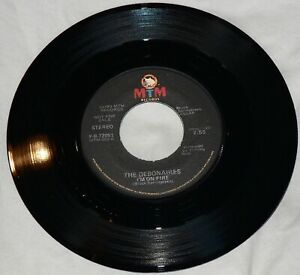"""THE DEBONAIRES I'm On Fire RARE MTM PROMO BRUCE SPRINGSTEEN Double A Side 7"""" 45"""