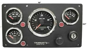 Details about *Yanmar C-Type Engine Panel VDO Gauges Fully Wired, USA MADE