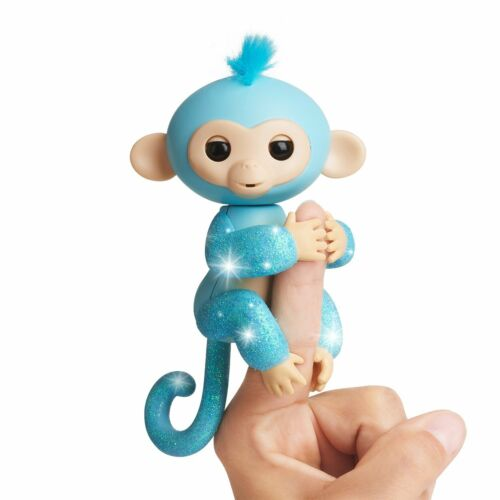 Fingerlings Amelia paillettes Singe Figurine