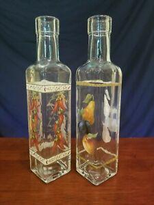 Decorative Clear Glass Bottles Ebay
