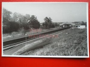 PHOTO-GRATELEY-RAILWAY-STATION-FROM-WEST-25-4-84