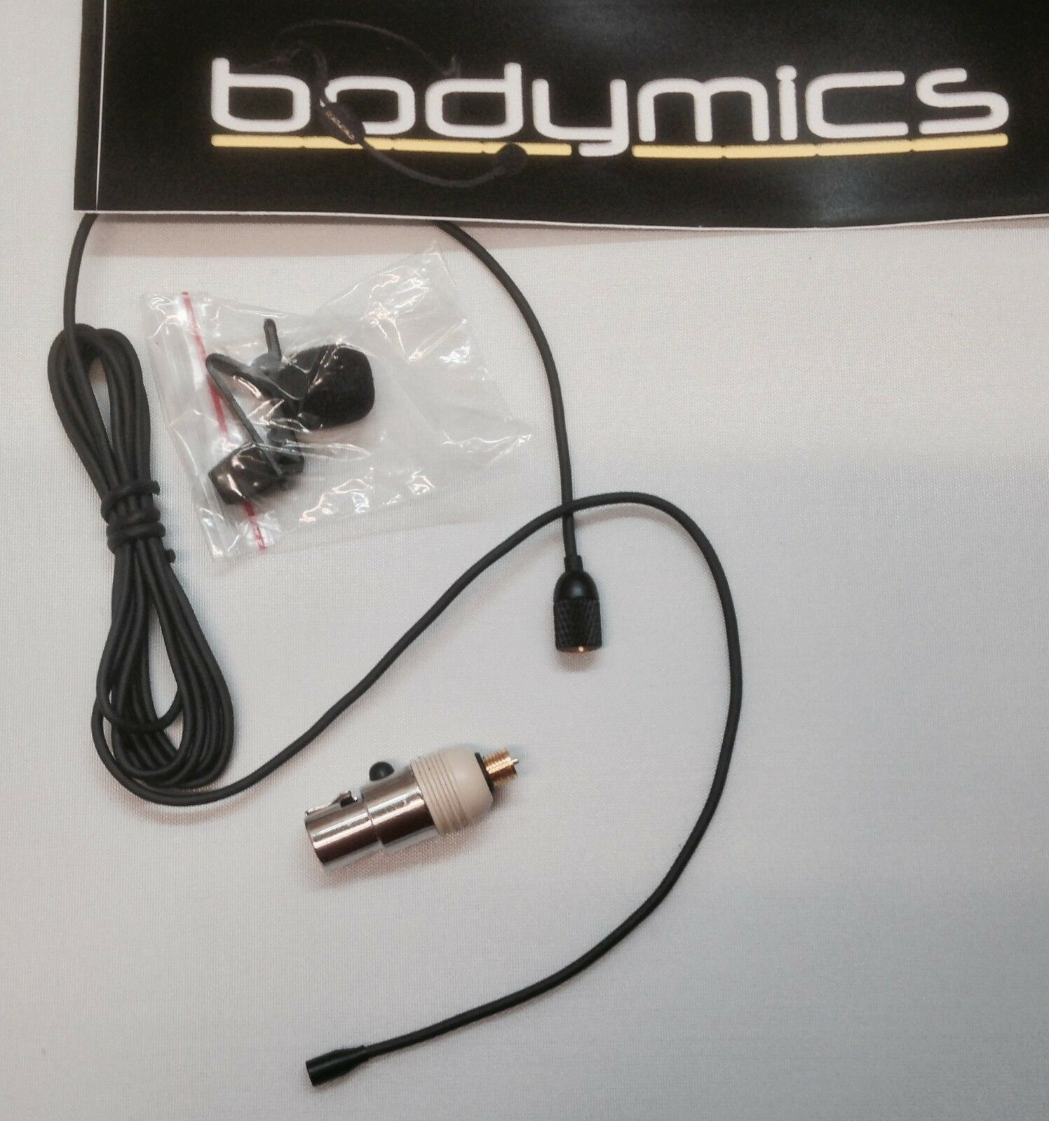 DLF3b-SH Tiny Omnidirectional lavalier microphone Shure, Carvin, Line6 wireless