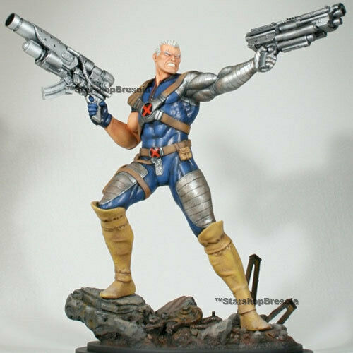 X-Men - Kabel Action Polystone Statuen Website Erstellen Exclusive Bowen Designs