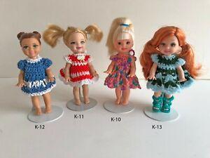 Clothes-for-Mattel-4-034-Kelly-Doll-Select-K-10-K-11-K-12-K-13-Dress-Lot-2-USA-Made