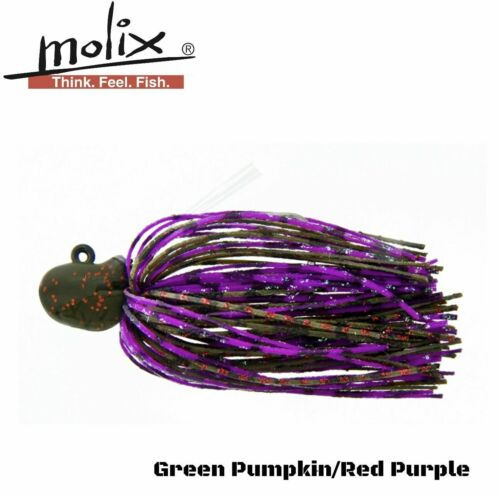 2.5G Molix Bass Fishing Weedles Jig Head Lure Nano Jig  3//32Oz