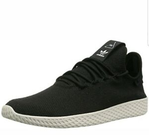 the best attitude 84e03 56399 Image is loading Adidas-Pharrell-Williams-PW-Tennis-HU-Mens-Black-